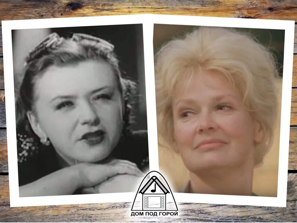 """Зощенко - """"Преступление и наказание"""". Жена Горбушкина - М.Миронова (1940) и Н.Гребешкова (1975)"""
