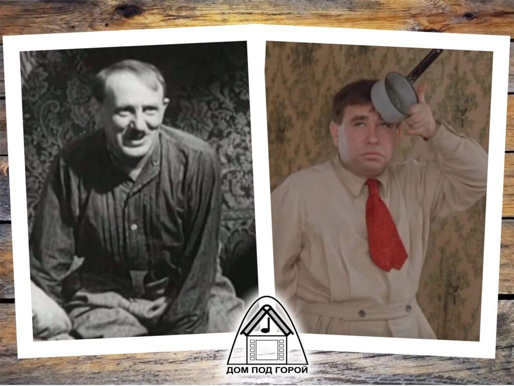 """Зощенко - """"Преступление и наказание"""". Сосед - Ф.Курихин (1940) и М.Светин (1975)"""