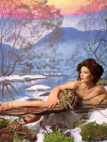 Лидия Вележева — обнажённая и прекрасная